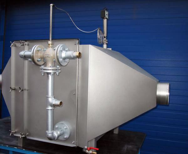 Caisson de traitement d'air plasturgie