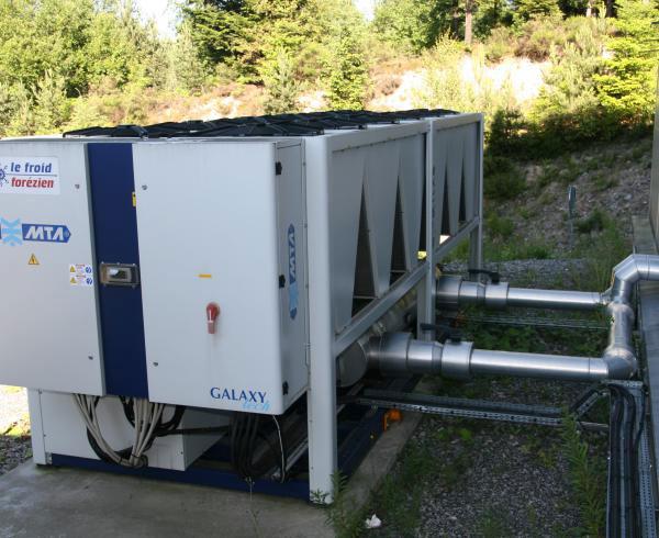 Groupe de production d'eau glacée MTA