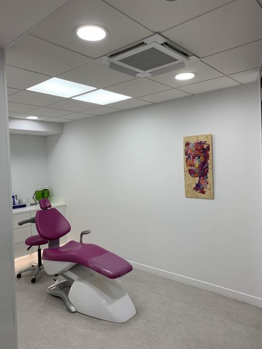 Climatisation d'un cabinet dentaire